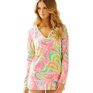 LILLY PULITZER All Nighter Megan Tunic Beach Cover